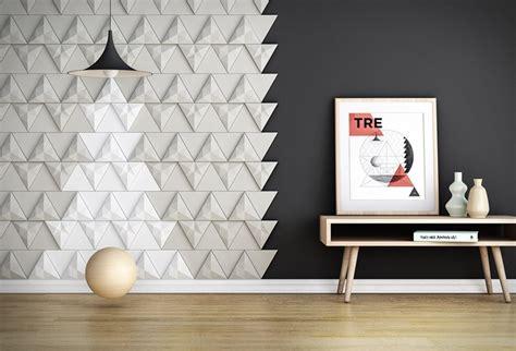 chambre haut de gamme carrelage 3d modulable pour donner du relief aux murs