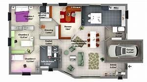plan de maison a construire inoui plan cuisine 3d gratuit With faire plan maison 3d 2 toulon var 83 architecte permis construire maison neuve
