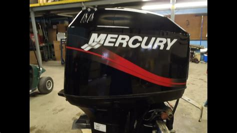 6m3d20 used 2002 mercury tracker 50elpto 50hp 2 stroke remote outboard motor 20 quot shaft