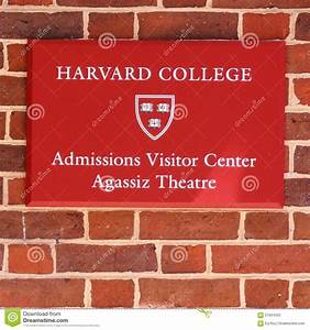 sign for the admissions office at harvard university With harvard college admissions