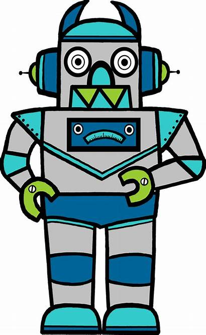 Robot Common Robots Engineering Clip Clipart Star