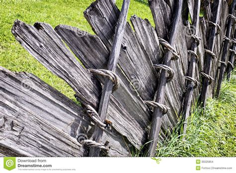 Old Wooden Fence Stock Photo. Image Of Obsolete, Fence