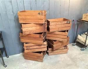 Caisse Bois Deco : caisse en bois ~ Teatrodelosmanantiales.com Idées de Décoration