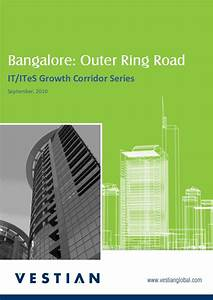 IT/ITeS Growth Corridor Series_Outer Ring Road, Bangalore
