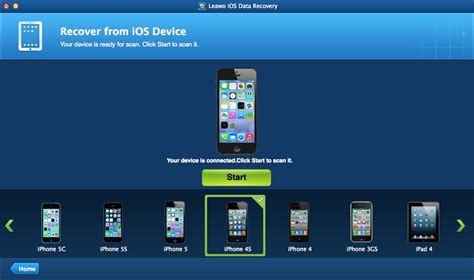 recover photos from iphone leawo ios data recovery for mac professional mac ipod