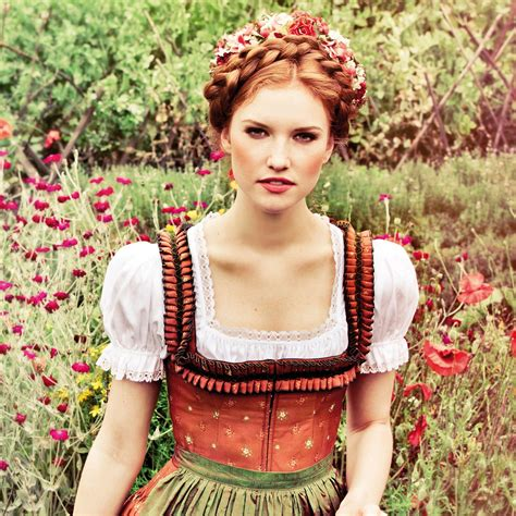 oktoberfest hairstyle tutorial state occasion style
