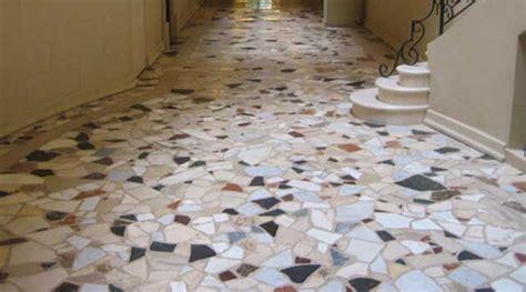 How Do You Clean Terrazzo Type Of Floor?