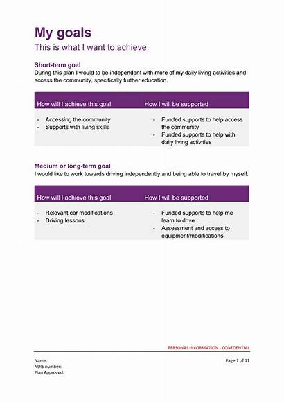 Ndis Plan Example Does Goals Careabout Supports