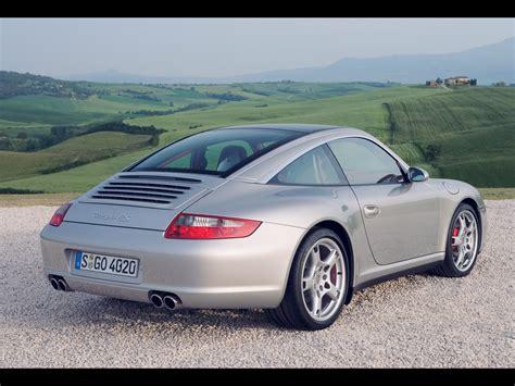 2007 Porsche 911 997 Targa 4s Rear Angle 1280x960