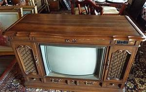 Vintage Zenith Space Command  Tv  Television  Console Tv