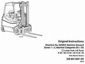 Linde Manual  U2013 Best Repair Manual Download