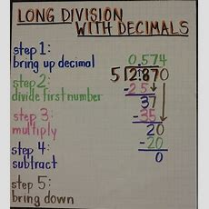 17 Best Ideas About Dividing Decimals On Pinterest  Teaching Fractions, Math Fractions And