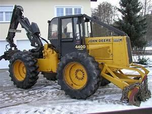 Tracteur Forestier John Deere John Deere 440 D Turbo