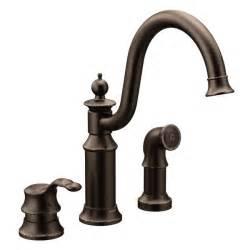replace moen kitchen faucet waterhill rubbed bronze one handle high arc kitchen faucet s711orb moen