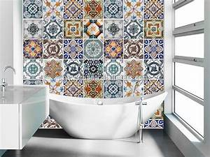 les 25 meilleures idees de la categorie carrelage adhesif With carrelage adhesif salle de bain avec led video wall