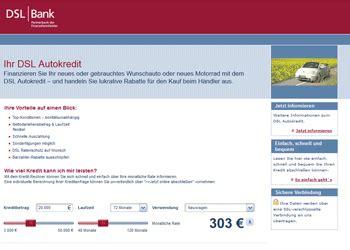 deutsche bank autokredit dsl bank autokredit vorteile nachteile und konditionen 05 2019