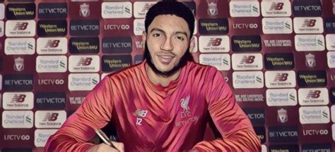 Gomez signs news long term Liverpool contract