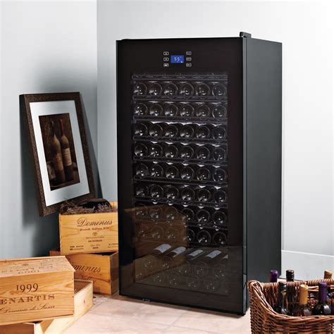 wine cabinet kitchen wine enthusiast companies classic 92 bottle single zone 1110
