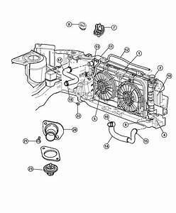 2007 Chrysler Town  U0026 Country Radiator  Engine Cooling