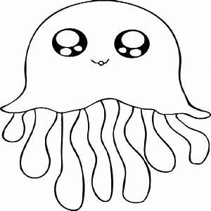 Jellyfish Coloring Page | Clipart Panda - Free Clipart Images