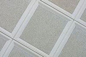 remove asbestos ceiling tiles ehow