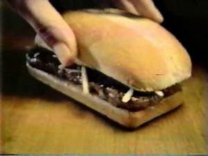 McDonald's BeefSteak Sandwich commercial 1980s - YouTube