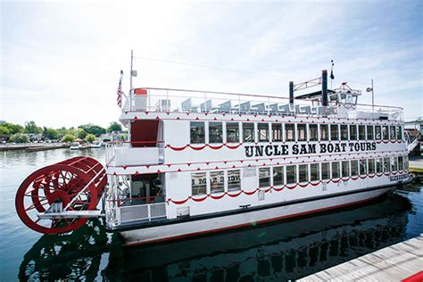 Uncle Sam Boat Tours Canada by Adventure In The Thousand Islands Wander The Map