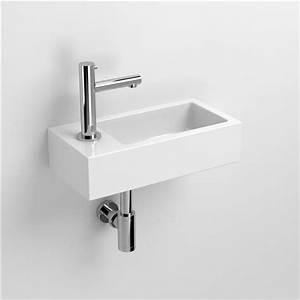Lave Main Ceramique : flush lave mains finition c ramique blanche ~ Edinachiropracticcenter.com Idées de Décoration