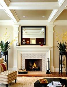 Tiles fireplace designs with tile modern fireplace with for Stylish options for fireplace tile ideas