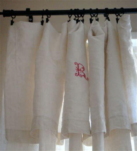 faire des rideaux avec draps anciens maison avec vue