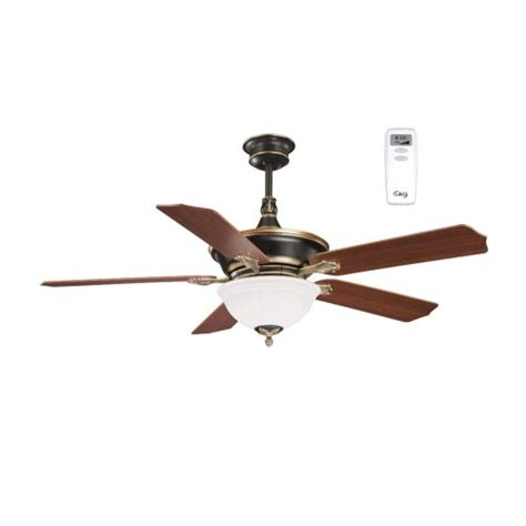 Litex Ceiling Fans Remote by Litex Ca52og5cr Cadoux 52 Inch Five Blade Ceiling Fan With