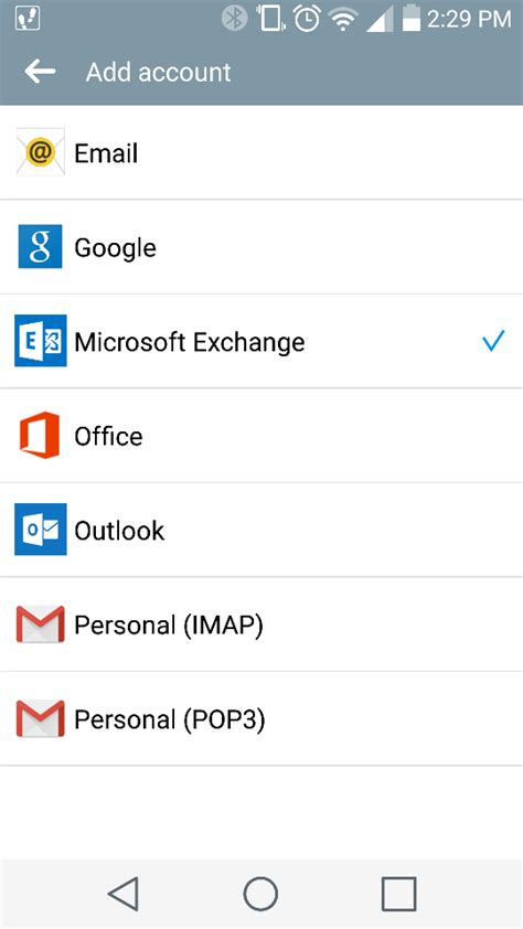 Office 365 Mail For Android by Adding Office 365 To Mail Client On Android Device