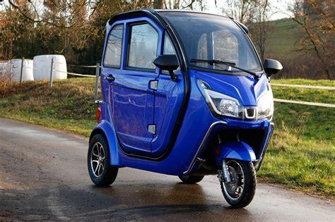 elektro kabinenroller 80 km h f 252 hrerscheinfrei elektro auto trixi comfort e