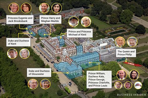 royal cottage residence prince harry meghan 13 more royals live in same palace