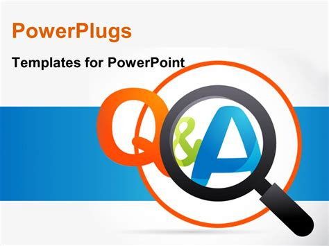 Powerpoint Questions And Answers Template by Powerpoint Template Question And Answer Choice Image