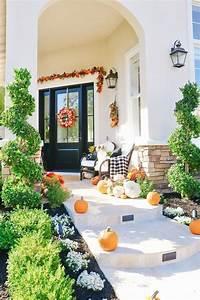27, Amazing, Fall, Front, Porch, Decor, Ideas