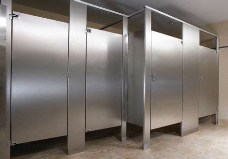 Commercial Bathroom Wall Dividers Stainless Steel Bathroom Partitions Crowdbuild For