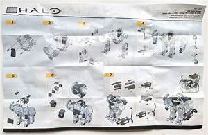 Halo Mega Bloks Unsc Arctic Cyclops Review 97107