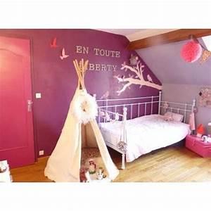 Tipi Petite Fille : 17 best images about chambre petite fille liberty on pinterest roses baby girls and bureaus ~ Teatrodelosmanantiales.com Idées de Décoration