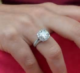 wedding ring finger 3 5 carat ring on finger jewels halo engagement ring halo