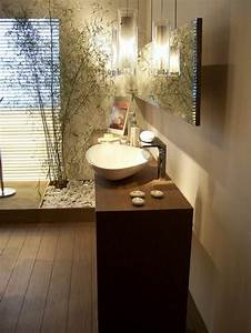 awesome salle de bain wenge zen photos amazing house With salle de bain deco zen
