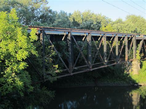 bridgehuntercom prr embarras river bridge