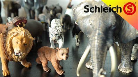 schleich zoo tiere sammlung schleich zoo animals