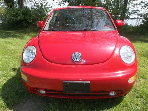 sell used 2000 volkswagen beetle gls 1 8l turbo sunroof leather cd more excellent mpg in