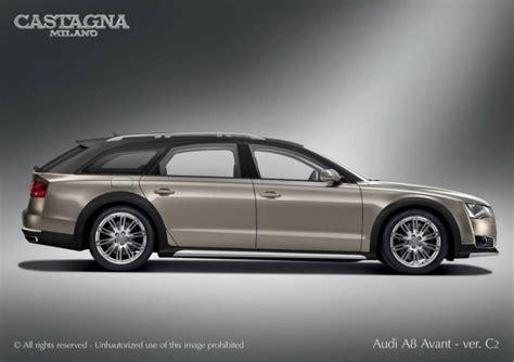 Audi A8 Avant by Italian Coachbuilder Plans Audi A8 Avant Wagon