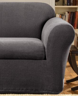 sure fit stretch metro 2 piece slipcover collection