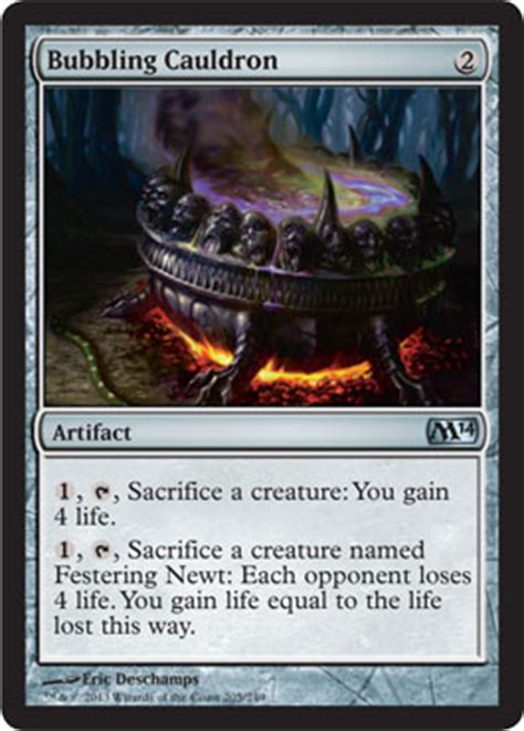 sacrifice of a witch toil and trouble daily mtg magic the