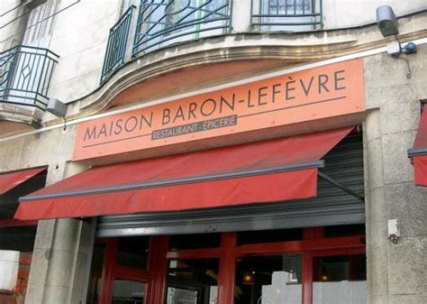 restaurant maison baron lefevre nantes 44000
