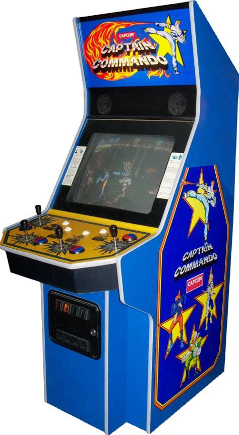 commando captain arcade games cabinet launchbox
