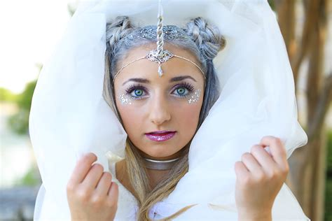 unicorn half up diy halloween costume cute girls